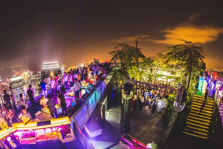 Singapore Rooftop Bars
