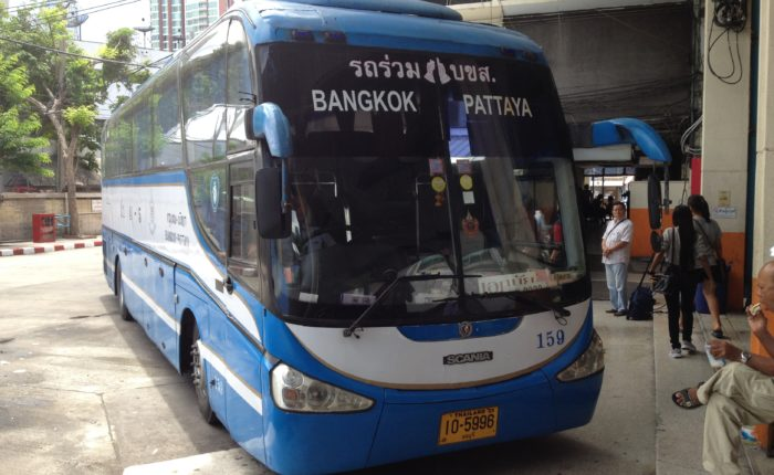 Bus to Pattaya