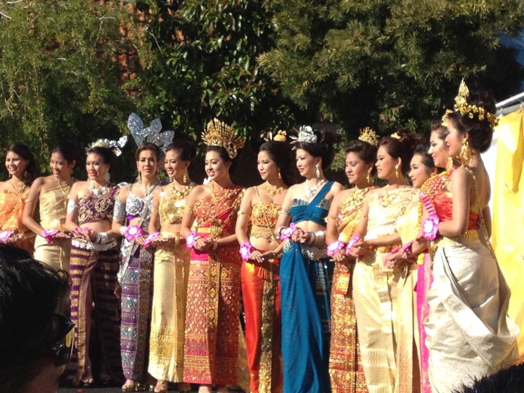 Songkran Thai New Year Festival Miss Thai pageant