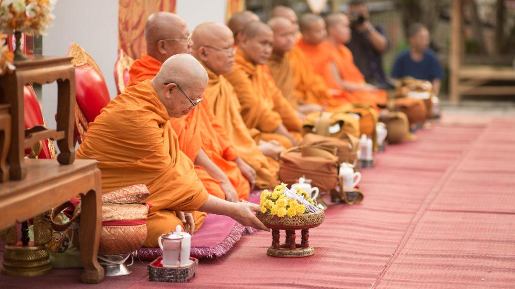 Songkran Traditionally