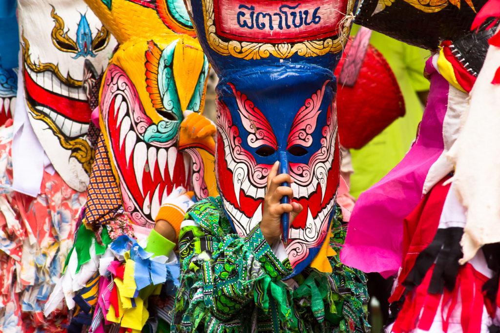 The Colorful Phi Ta Khon Festival of Dan Sai
