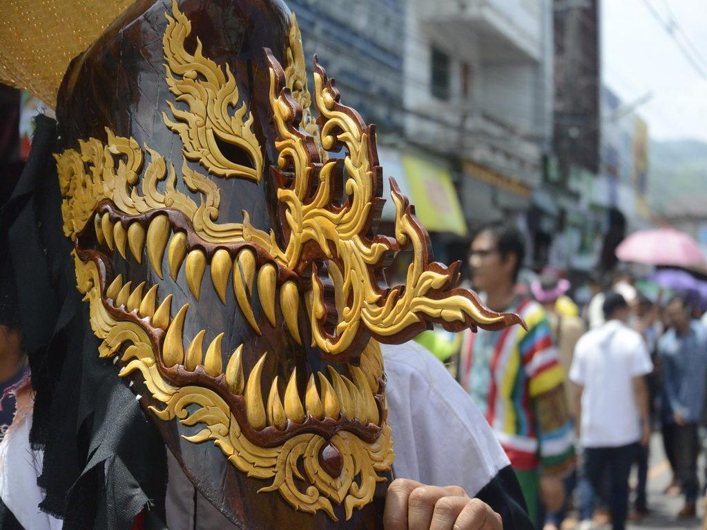 Phi Ta Khon (Ghost Festival)