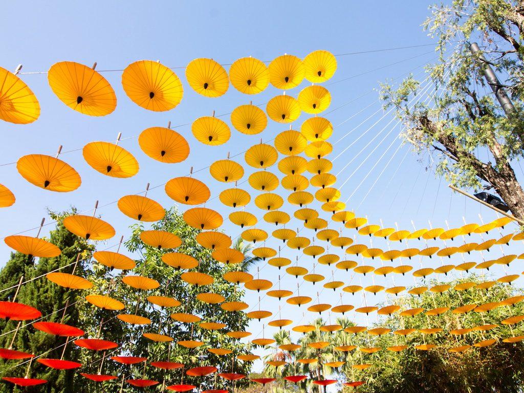 Umbrella Fair Decoration