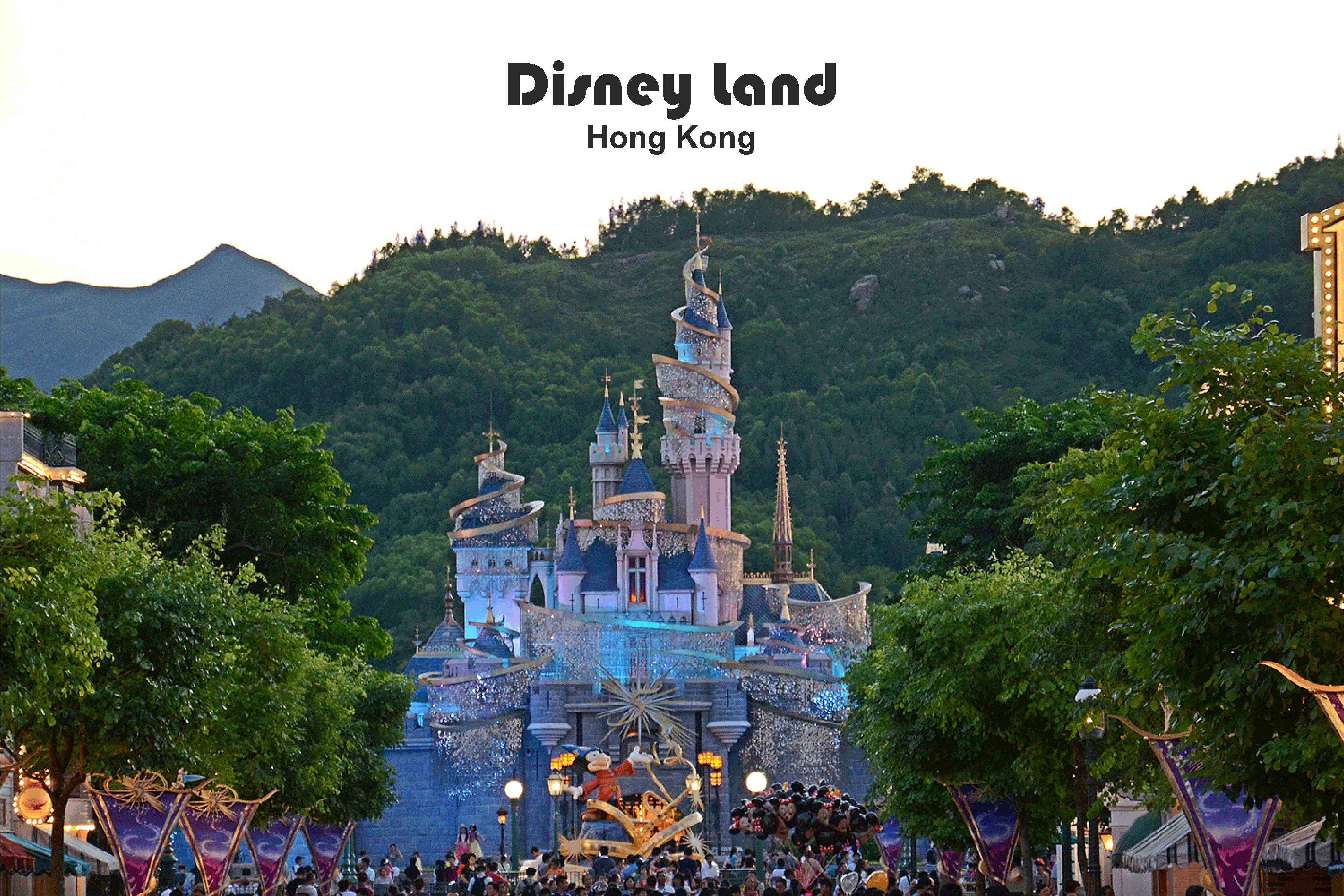 Disney Land Hong Kong