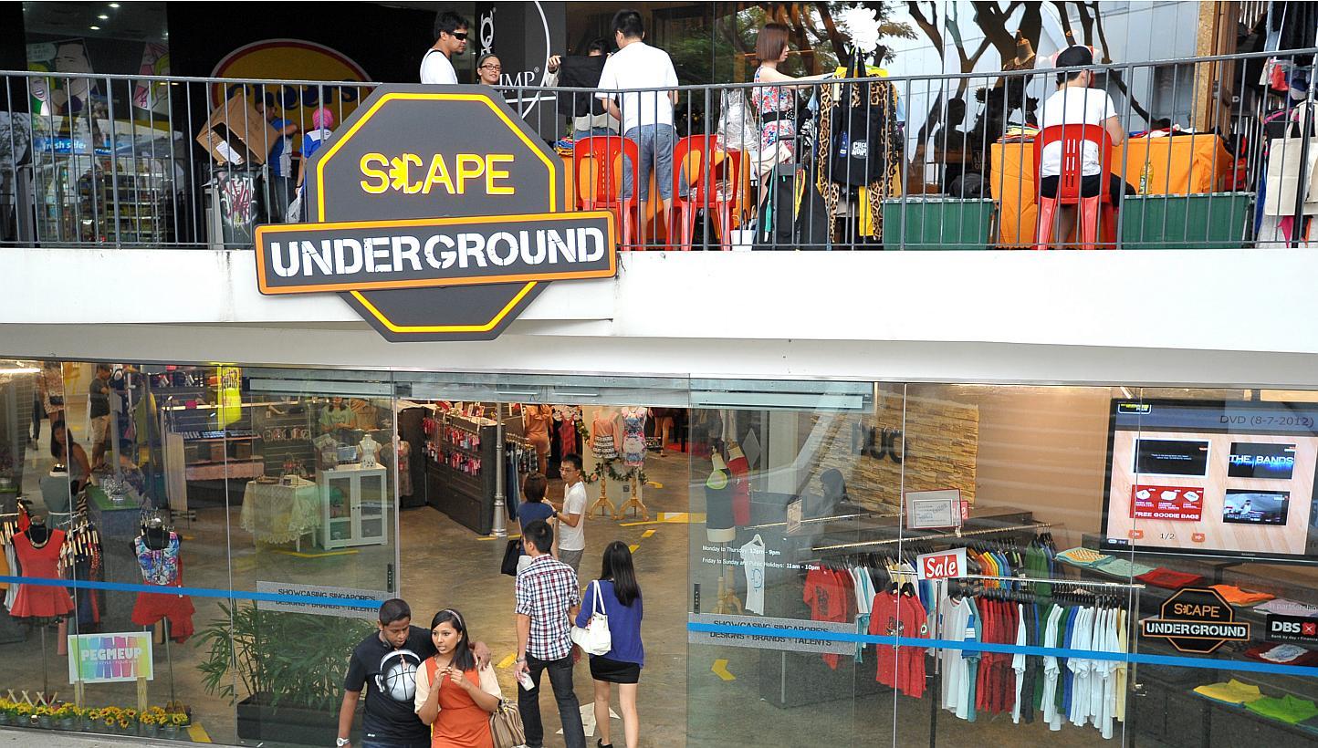 Scape Underground