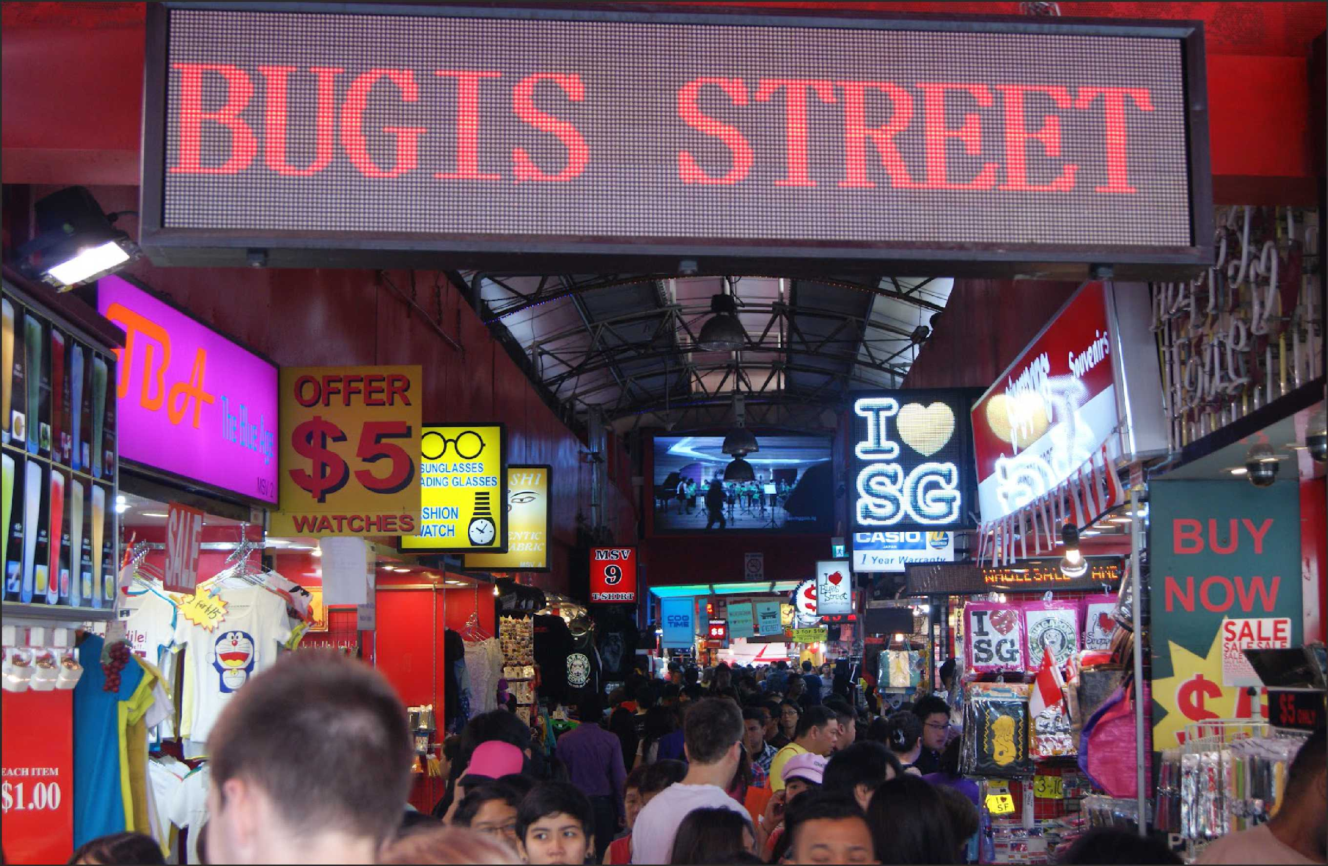 Singapore Top Five Street Markets