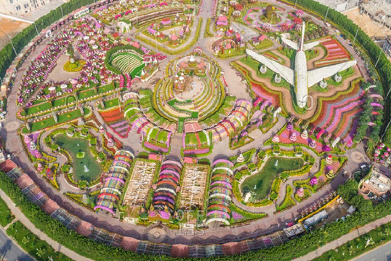 Dubai Miracle Garden Map