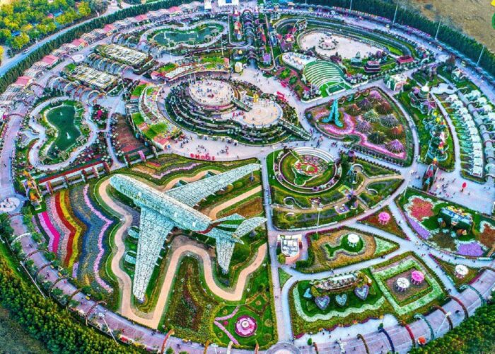 Miracle Garden and Global Village Tour
