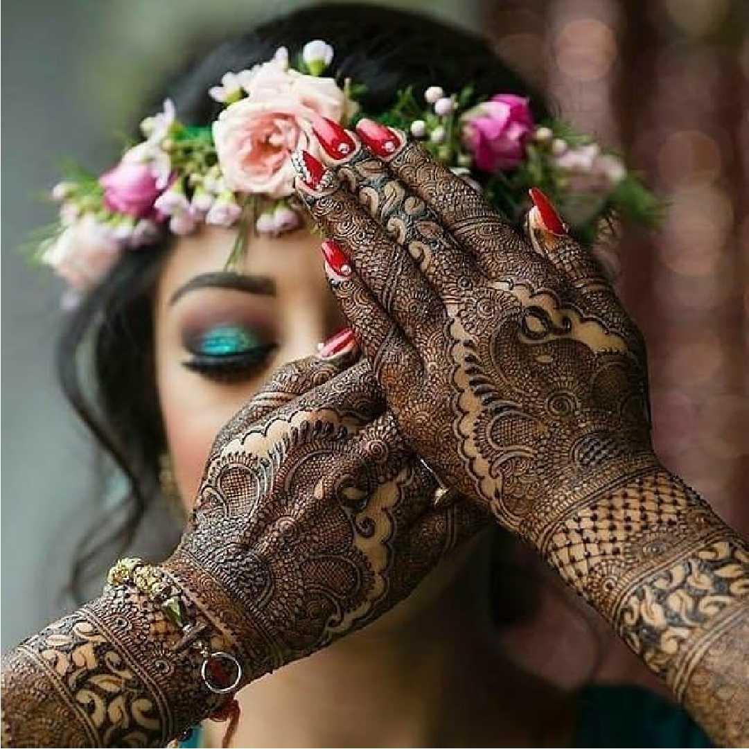 Flower Jewelry for Mehendi