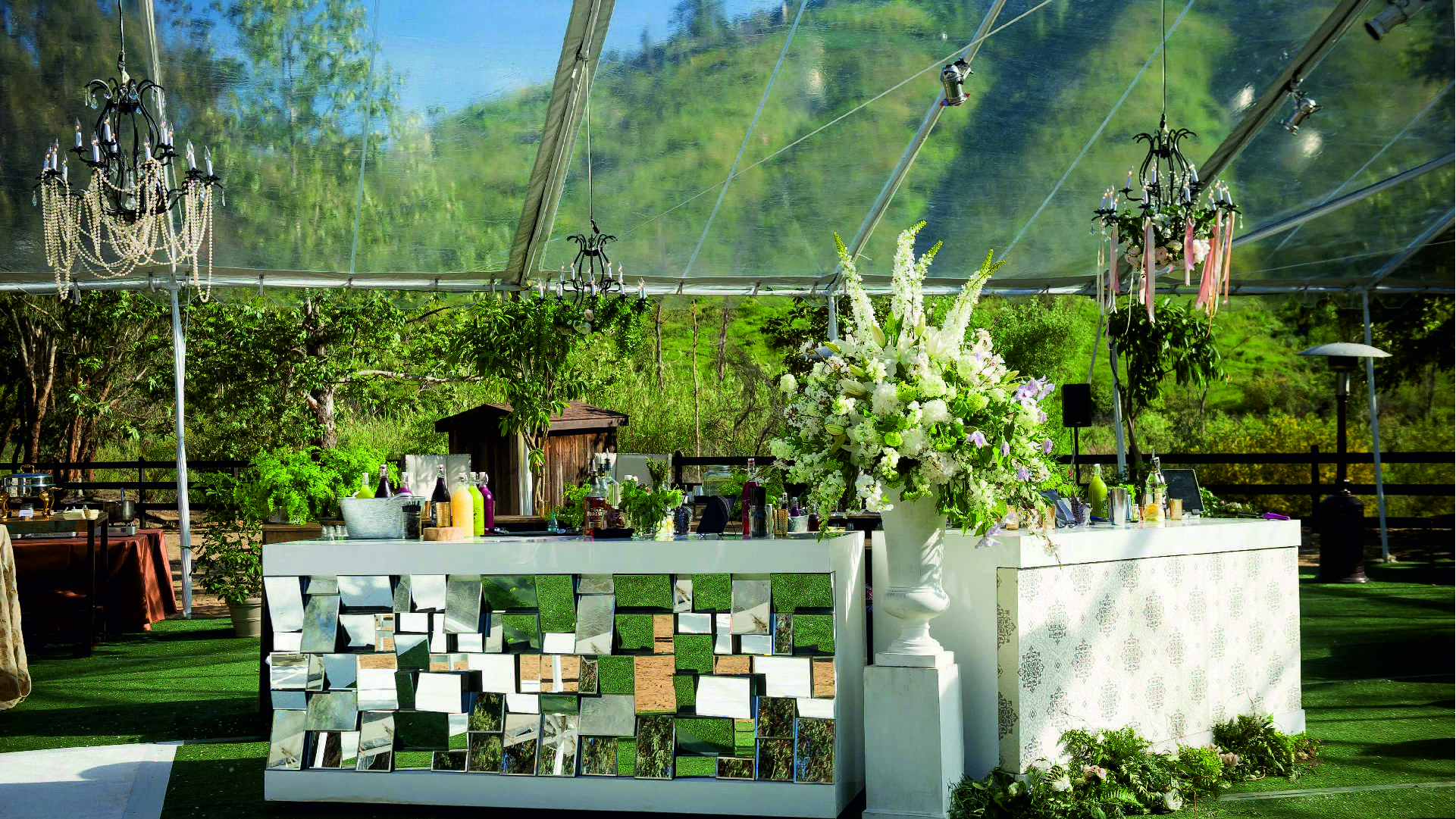 Five Stage Décors at the Wedding