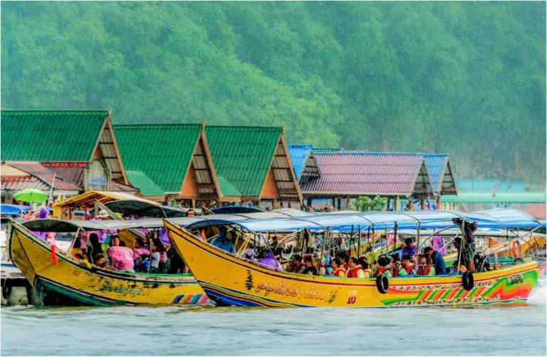 Phuket Long tail Boats