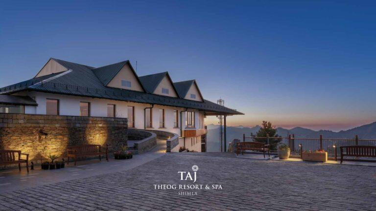 Staycation Taj Theog Resort & Spa