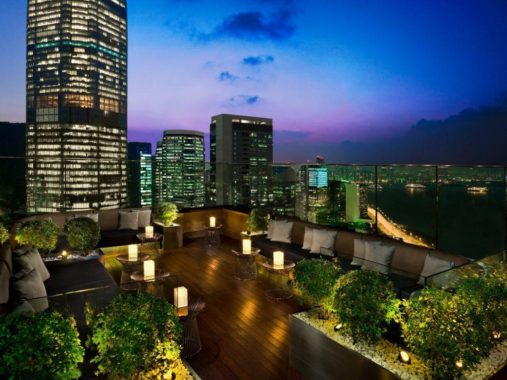 Hong Kong Roof Top Bars