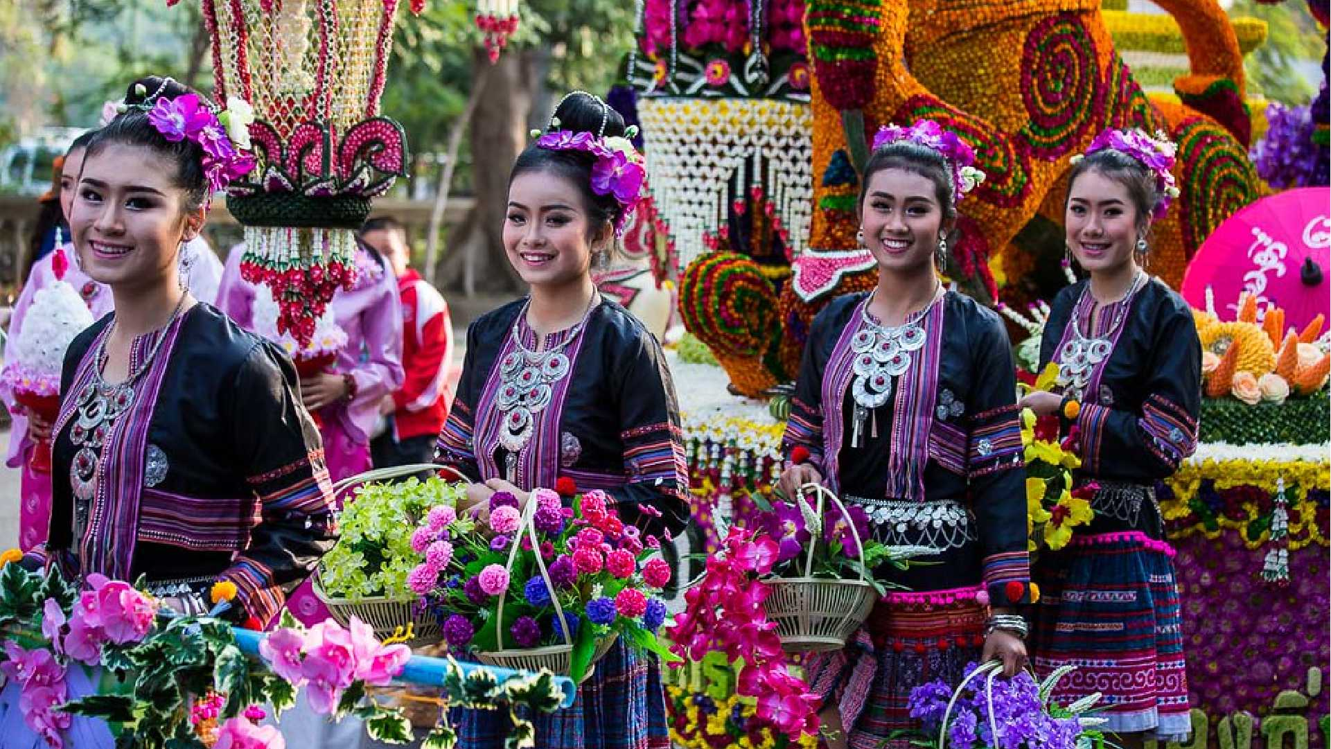 Flower Festival of Chiang Mai