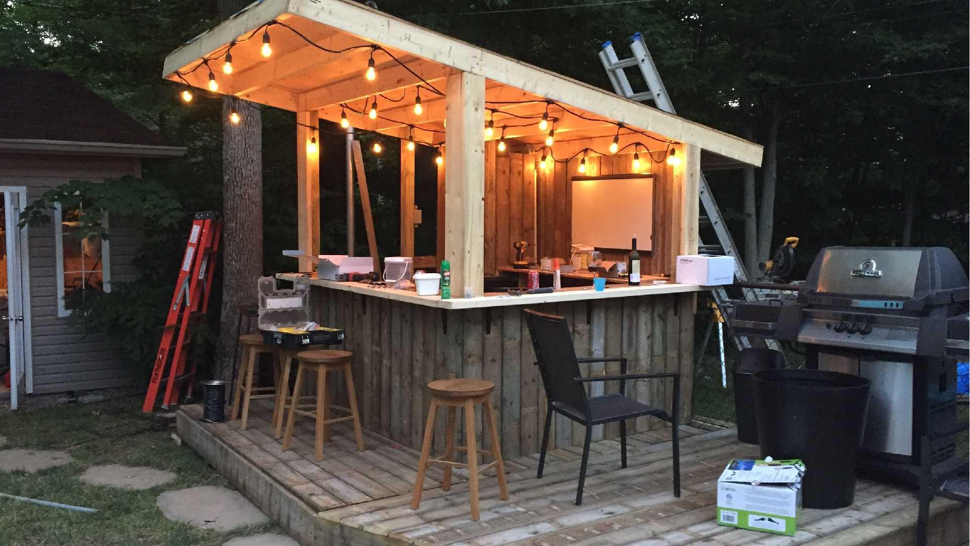 Tiki Bar Garden