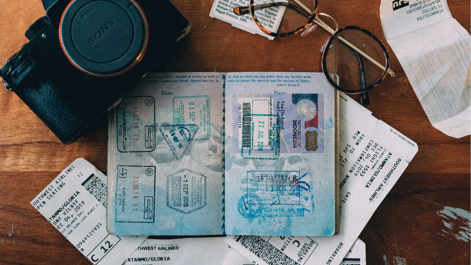 Travel Document Checklist Guide