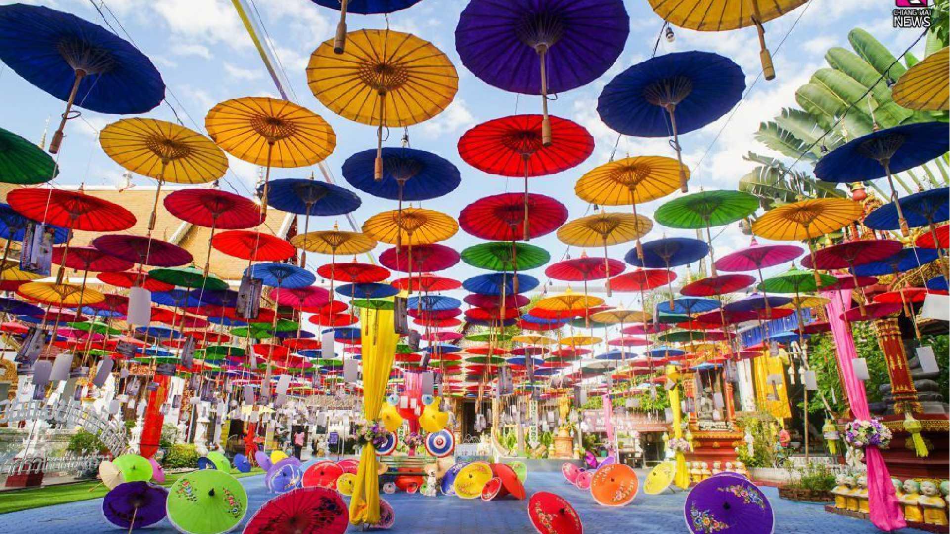 Umbrella Festival Decor