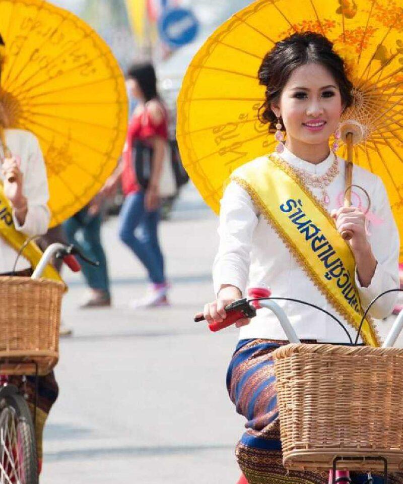 Umbrella Festival of Bo Sang Thailand