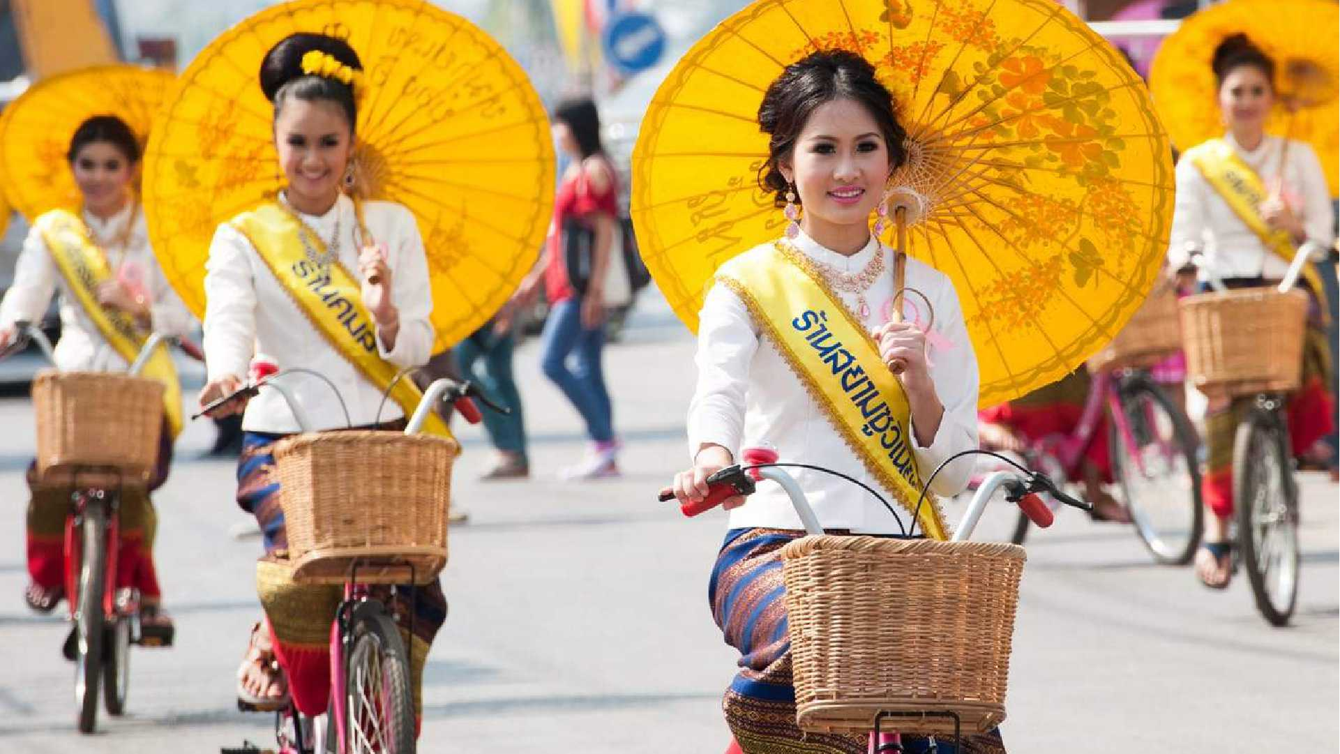 Umbrella Festival of Bo Sang Thailand