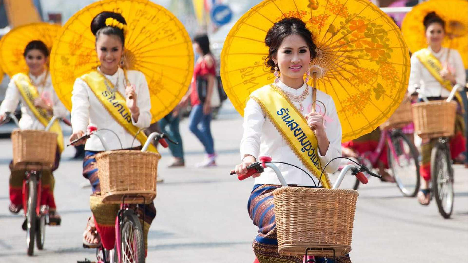11Umbrella Festival of Bo Sang Thailand