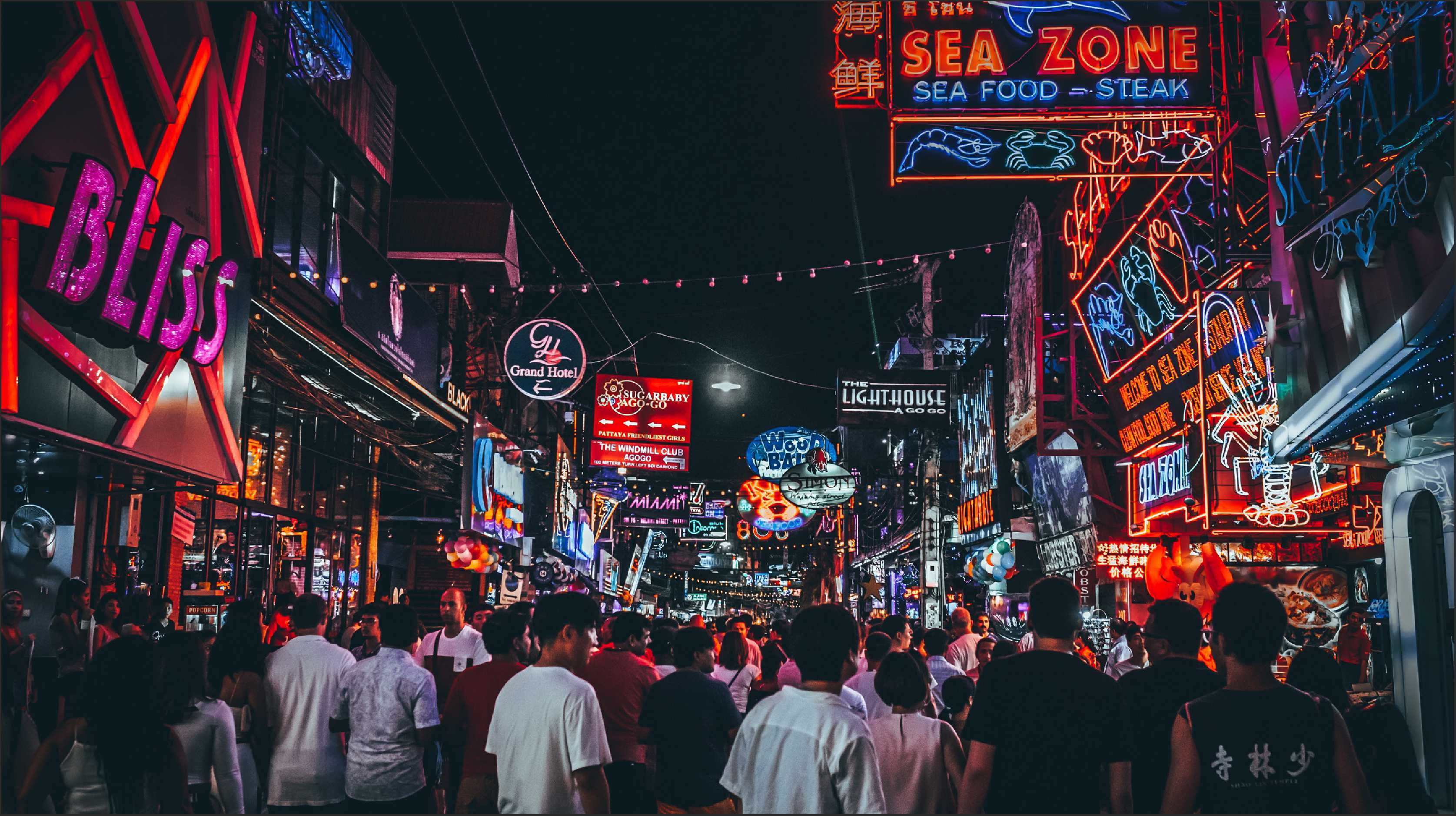 Top Five Midnight Fun in Pattaya Thailand