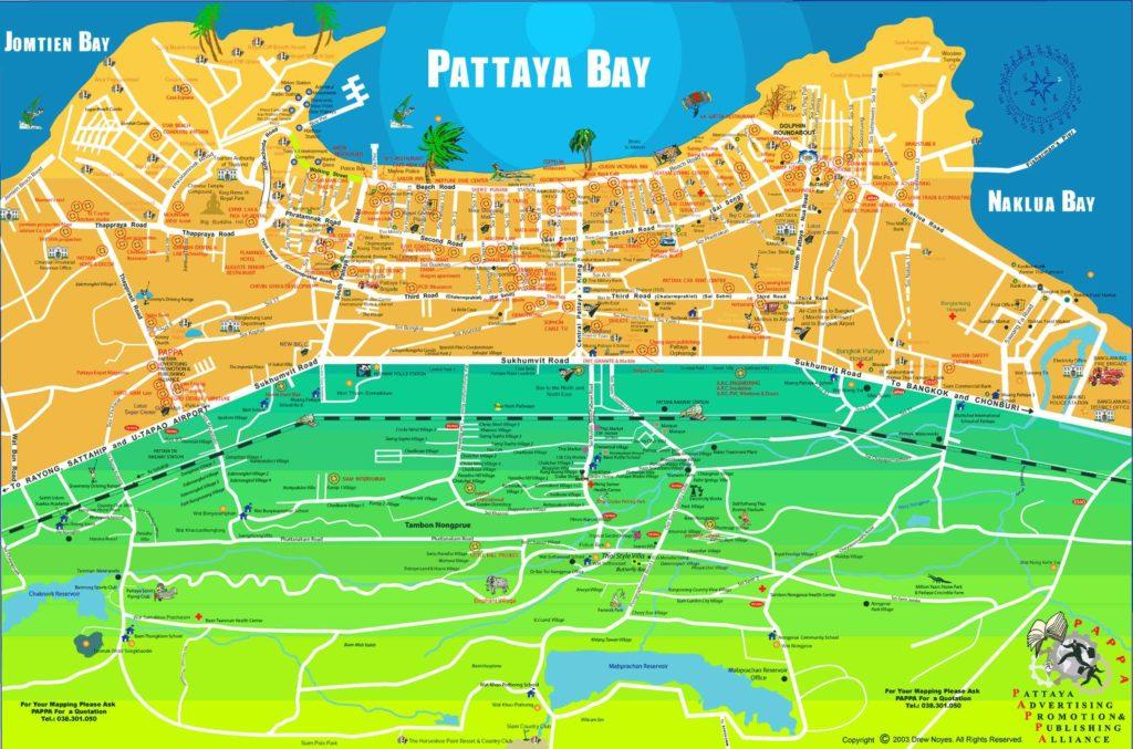 Pattaya Map